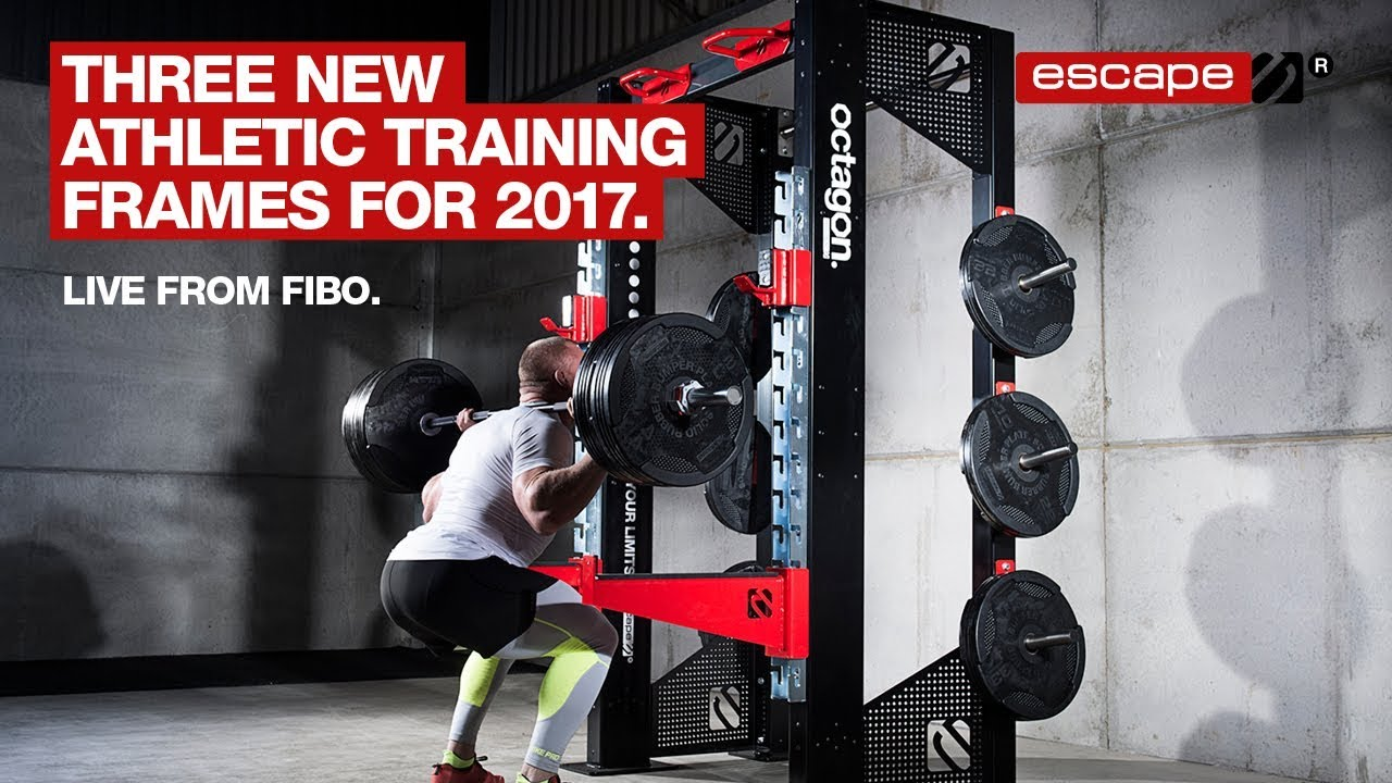 cc53306c0ed Strength to Strength with three Escape Octagon Training Frames - YouTube