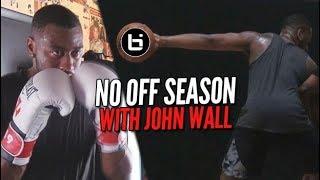 John Wall Throws Hands in the Yams!   NO OFFSEASON   episode 1