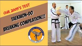Taekwon-Do breaking / roturas