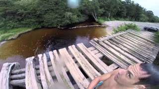 GoPro Bridge Jumping NJ in Ocean County New Jersey