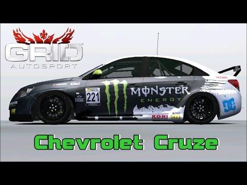 Grid Autosport - Chevrolet Cruze @ Autodromo do Algarve-Circuito ...
