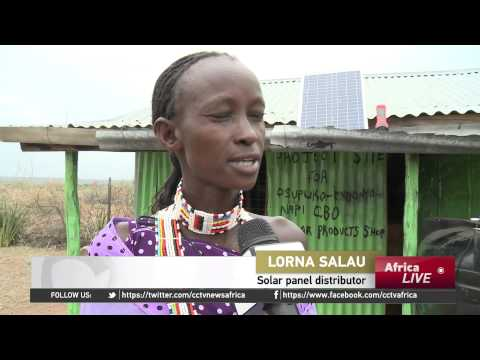 Solar power bringing light to Kenya's Maasai homes