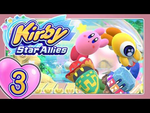 KIRBY STAR ALLIES 💞 Part 3: Mit dem Freundeskreis über Planet Pops wunderliche Welten