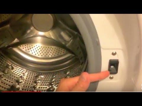 Oe Code Lg Washing Machine Replace Door Lock Switch Youtube