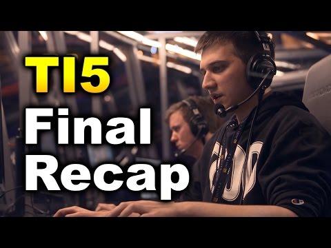 Dota 2 TI5 Final Full Recap