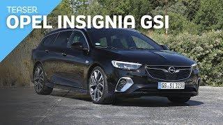 Teaser Opel Insignia Sports Tourer GSi 2019 | Prueba / Review en español / Test |