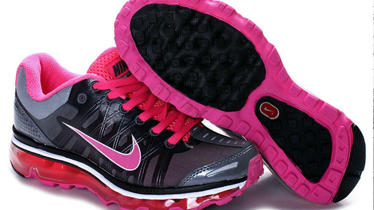 acheter populaire df0c6 8a60c Chaussures Nike Air Max 2009 femme Noir et Rose Red,nikeairmax,vente chaude