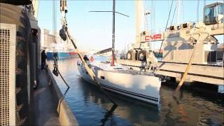 The First Of The Jeanneau 64 Yachts Being Launched - Jeanneau New Zealand