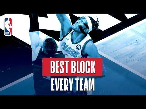 NBAs Best Block Of Every Team | 2018-19 NBA Season | #NBABlockWeek