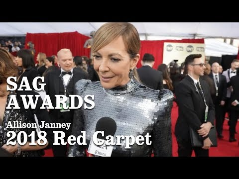 Allison Janney On The Red Carpet At The SAG Awards 2018