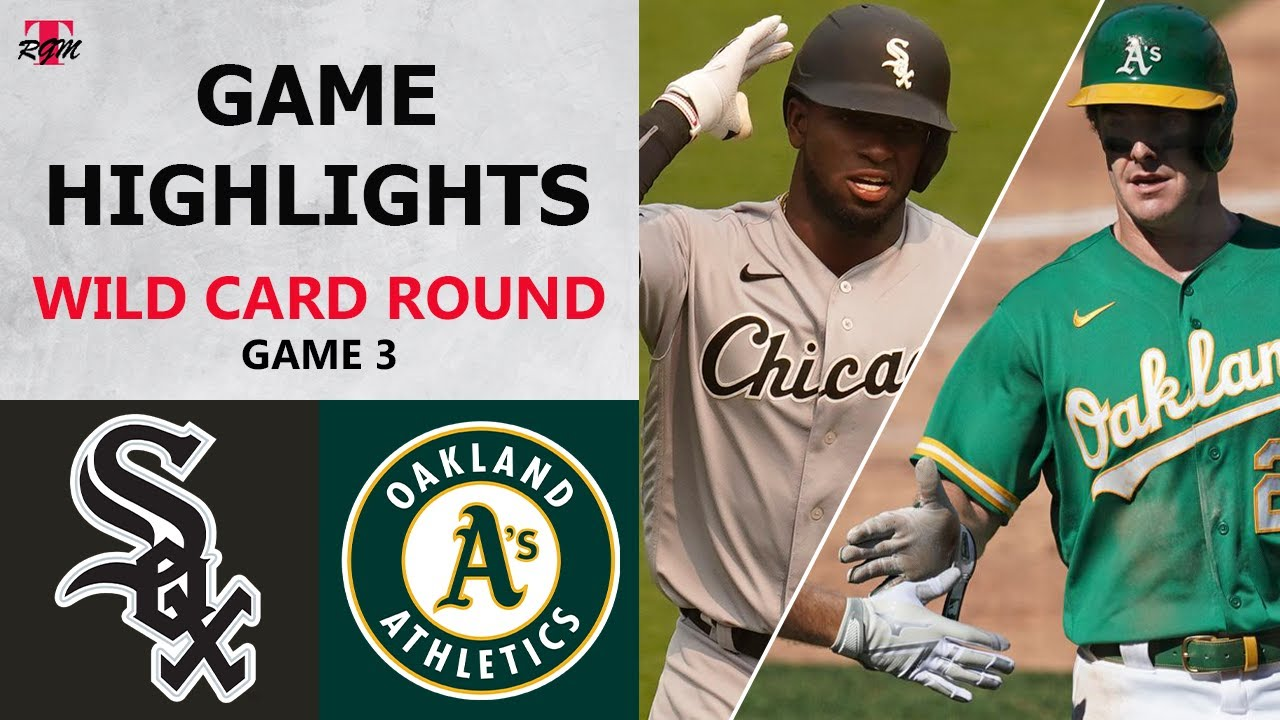 Chicago White Sox vs. Oakland Athletics Game 3 Highlights | Wild Card Round (2020)