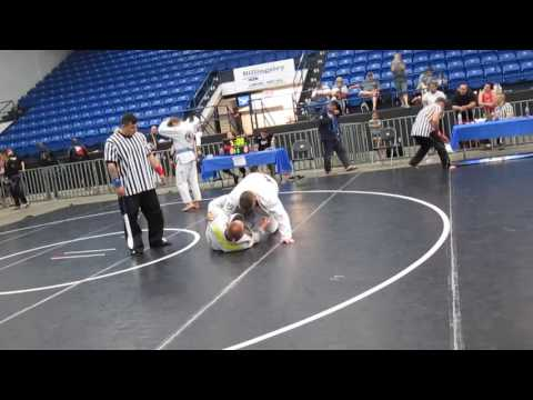 Southwest Oklahoma Grappling Championship Blue belt Heavy part 1