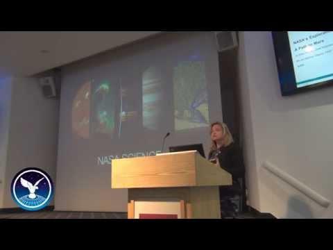 VIDEO: Dr Ellen Stofan, NASA Chief Scientist on the 'path to Mars'