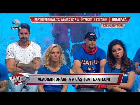 WOWBIZ (23.05.) - Vladimir Draghia a castigat EXATLON! Primele reactii ale FAIMOSILOR!