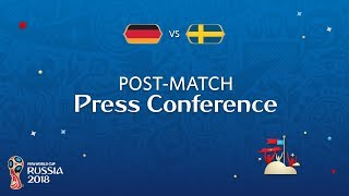 FIFA World Cup™ 2018: Germany v. Sweden - Post-Match Press Conference