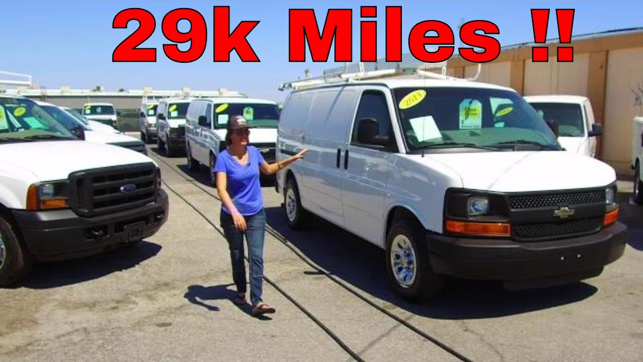 2014 CHEVY EXPRESS CARGO VAN - 29K Miles !! Fully Equipped for Tradesmen -  Like New! SeeWhatsIn com