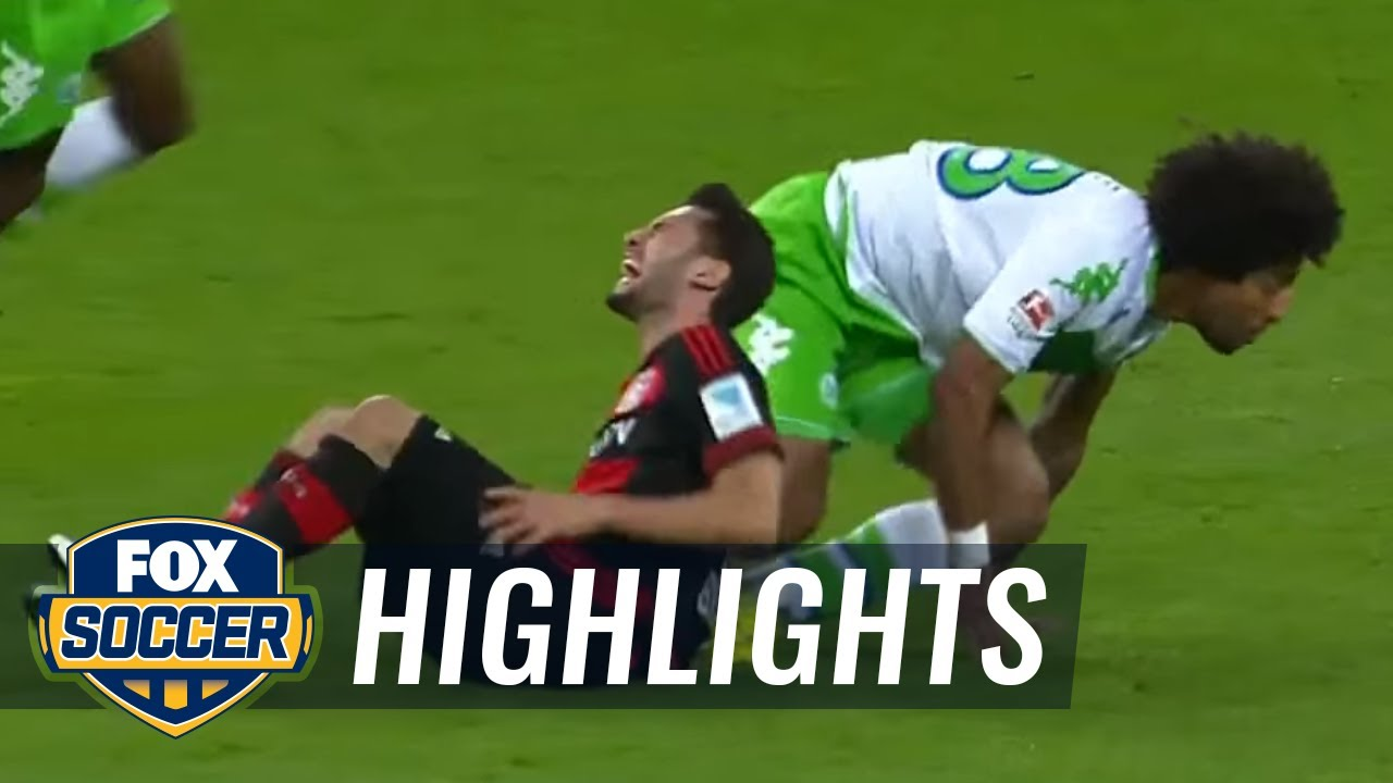 wolfsburg leverkusen highlights