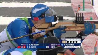What is para-biathlon at the Paralympic Games