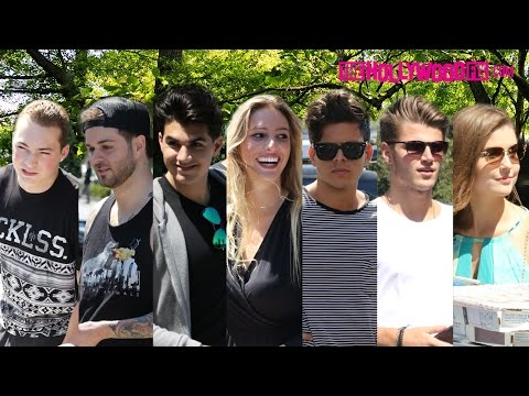 Lele Pons, Curtis Lepore, Christian DelGrosso, Amanda Cerny, Twan & Rudy At Vine Meet Up 8.23.15
