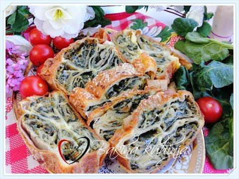 Bakina kuhinja - prelepa pita sa spanaćem