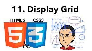Curso Básico de HTML y CSS 11 -Display Grid-