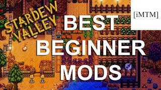 BEST BEGINNER MODS - SDV Mod Monday (Stardew Valley Gameplay  Tips)