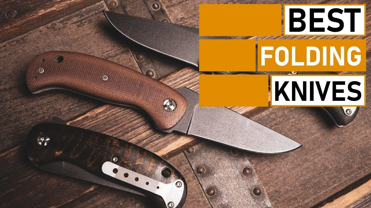 Amazing Folding Knives for Outdoors & Survival | Spyderco, Benchmade, Buck, SOG