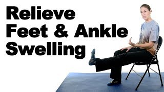 Reduce Feet & Ankle Swelling - Ask Doctor Jo