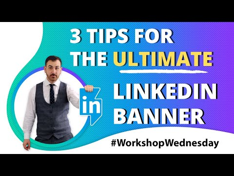LinkedIn Banner Size (2020) 🔥3 Profile Tips For Your LinkedIn Background Photo