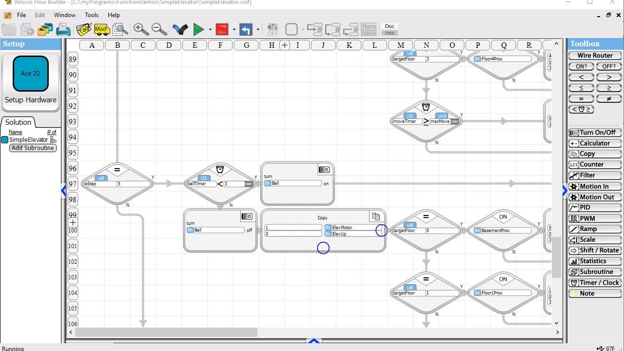 ladder logic diagram for elevator [ 1280 x 720 Pixel ]