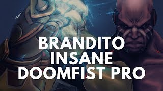 Overwatch Doomfist God Brandito The Most Dominant Puncher Ever