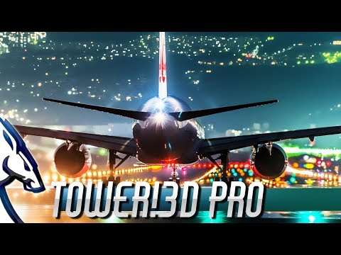 Tower!3D Pro: An Air Traffic Control Simulation