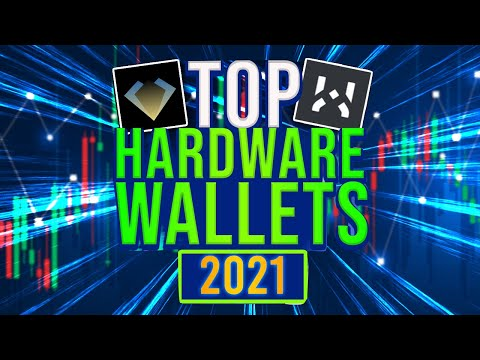 Top 3 NEW Crypto Hardware Wallets (2021)