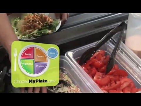 MyPlate at the Salad Bar