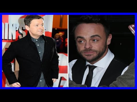 Declan Donnelly 'very upset' as Ant McPartlin quits TV for 'foreseeable future'