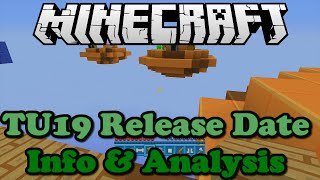 Minecraft Xbox 360 + PS3 TU19 Release Date Info (Analysis)