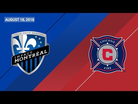 HIGHLIGHTS: Montreal Impact vs. Chicago Fire | August 18, 2018