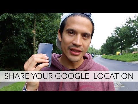 Share Google Location in real time when traveling: Great Google Maps feature when getting lost!