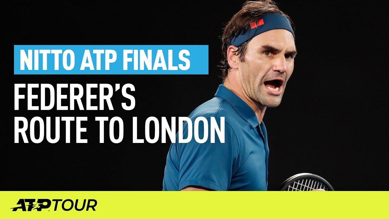 Federer S Route To London Nitto Atp Finals Atp Youtube