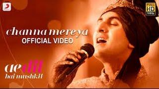 chana mereya - arijit singh( karaoke with lyrics)