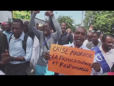 Comoros protests to re-claim French Island, Mayotte
