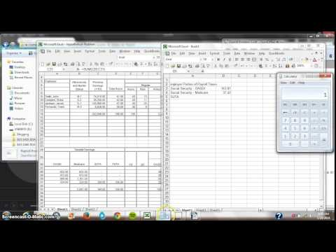 Payroll Problem Part IX - FUTA and SUTA Calculated