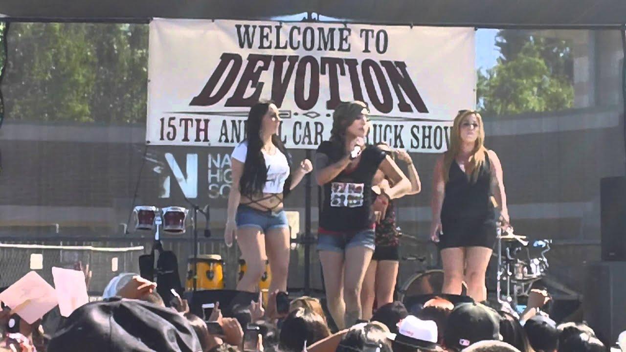 Davina At Devotion Lowrider Car Show And Concert In Sacramento CA - Sacramento car show