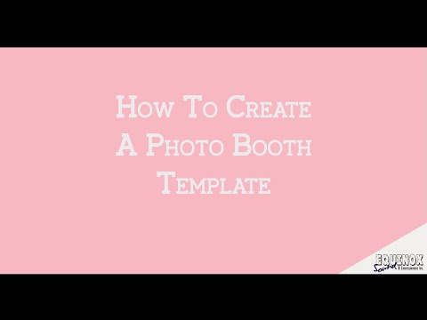 How To Create Photo Booth Template Strips in Illustrator