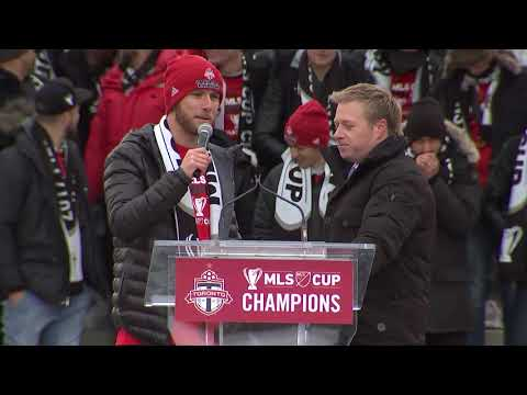 The Best of the MLS Cup parade