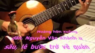 Chiều Vàng, Nguyễn Văn Khánh. Classical Guitar Trémolo Romantic Melancholic ~ 1944