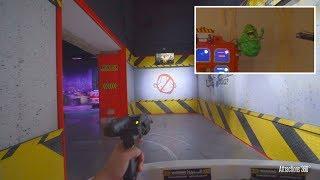 [4K] Ghostbusters Interactive Ride - MotionGate Dubai Parks & Resorts