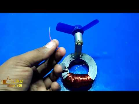 make a free energy generator from magnet new technology exhibition dynamo