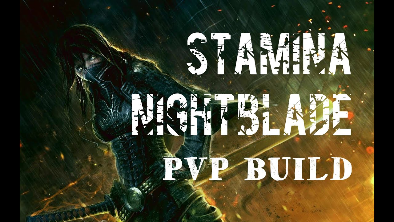 Stamina Nightblade PVP Build - BERZERKER - ESO Wolfhunter