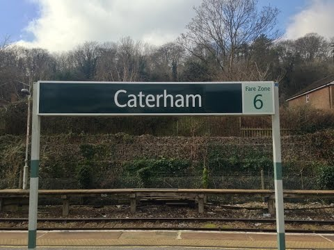 Full Journey on Southern from Caterham to London Bridge (via Forest Hill)